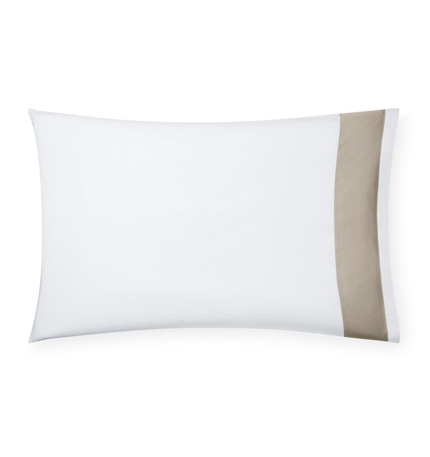 Fig Linens -  Casida Bedding by Sferra - Oat Pillowcase