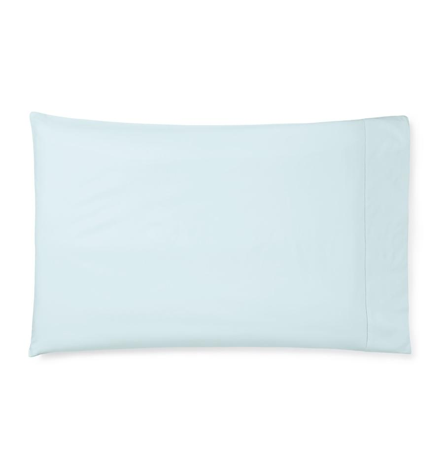 Celeste Sheeting by Sferra | Fig Linens - Aquamarine Pillowcase