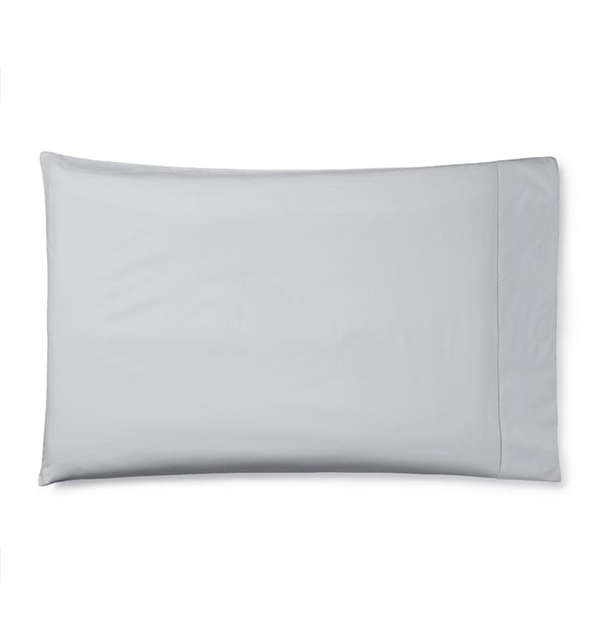 Celeste Sheeting by Sferra | Fig Linens - Tin pillowcase
