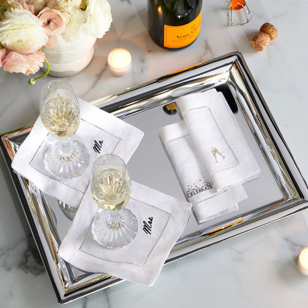 Celebrations Cocktail Napkins by Sferra | Fig Linens and Home