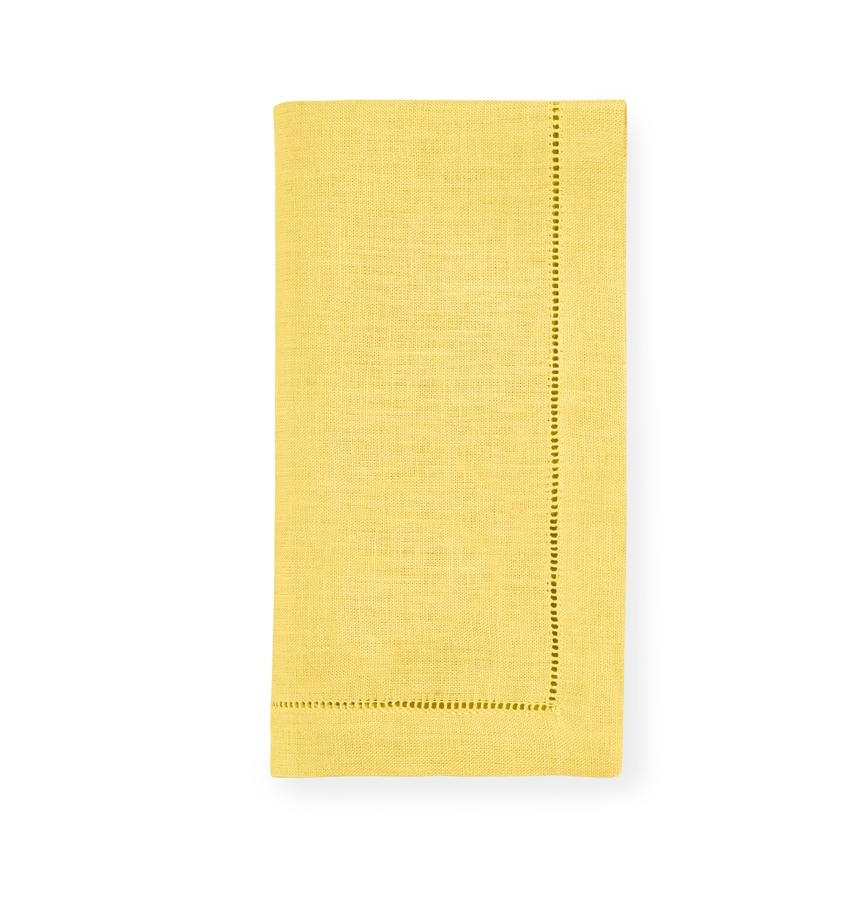 Fig Linens - Sferra Table Linens - Festival Banana Napkins