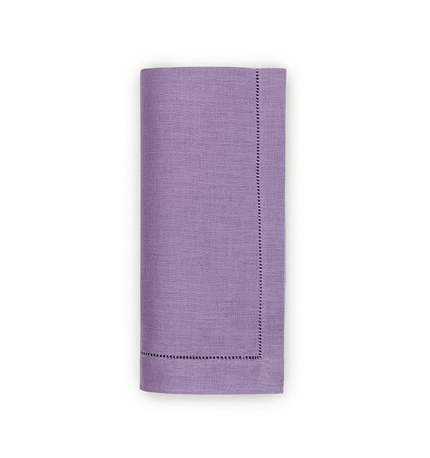 Fig Linens - Sferra Table Linens - Festival Amethyst Napkins
