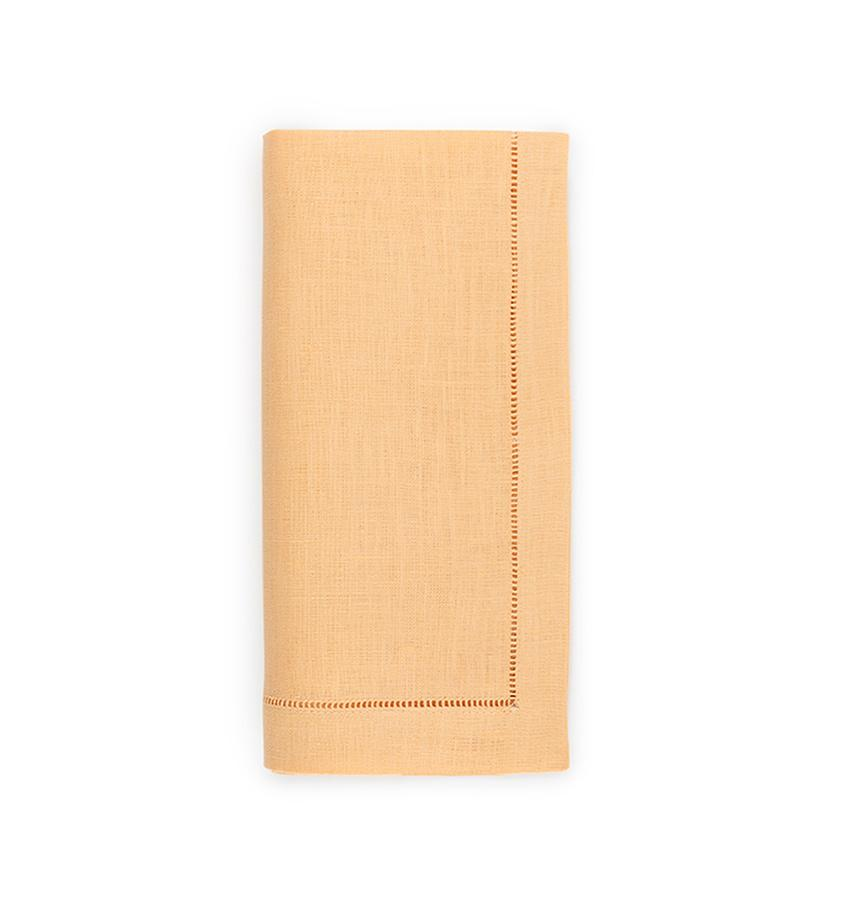 Fig Linens - Sferra Table Linens - Festival Apricot Napkins
