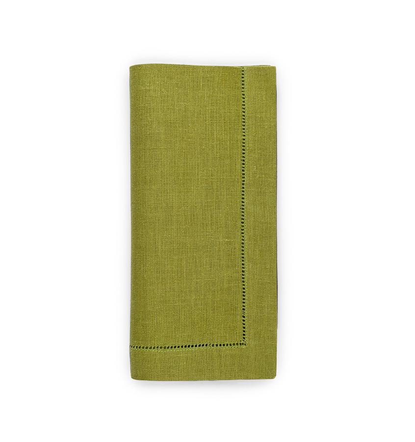 Fig Linens - Sferra Table Linens - Festival Avocado Napkins