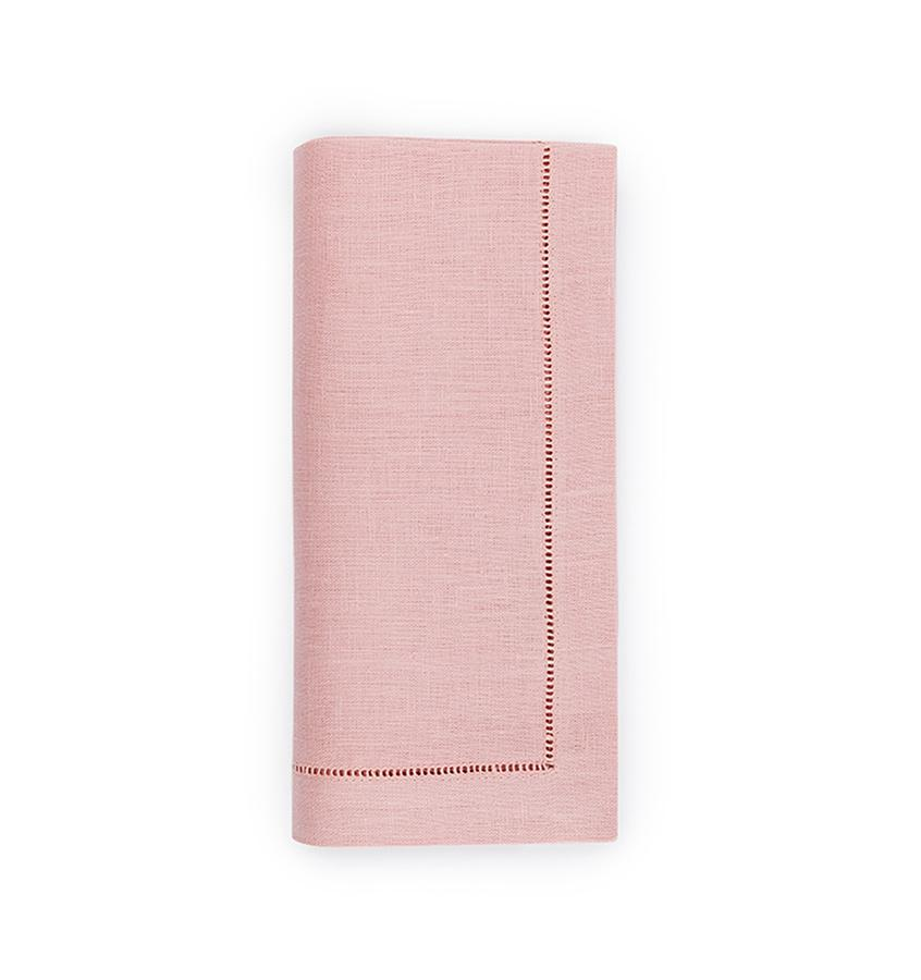 Fig Linens - Sferra Table Linens - Festival Blush Napkins
