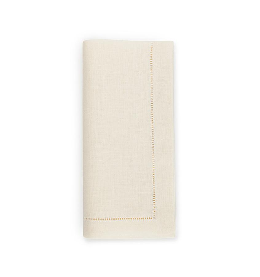 Fig Linens - Sferra Table Linens - Festival Eggshell Napkins