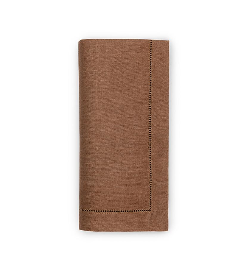 Fig Linens - Sferra Table Linens - Festival Hazelnut Napkins