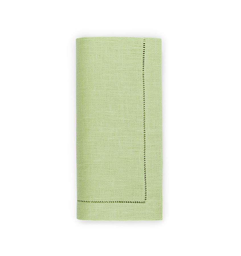 Fig Linens - Sferra Table Linens - Festival Kiwi Napkins