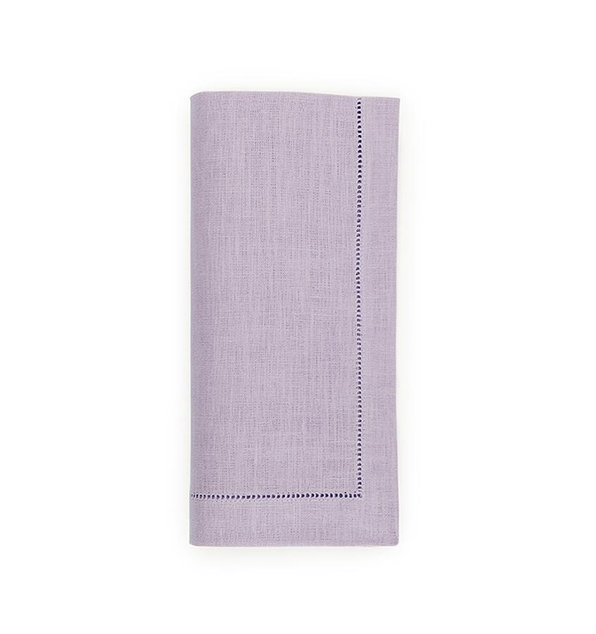Fig Linens - Sferra Table Linens - Festival Lavender Napkins