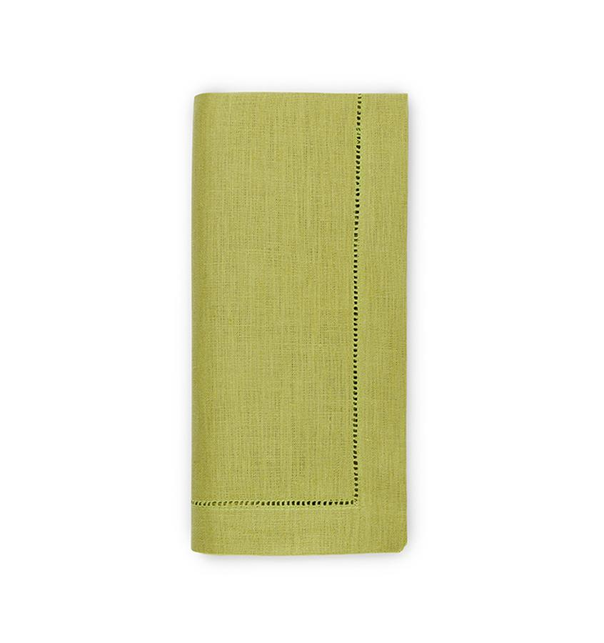 Fig Linens - Sferra Table Linens - Festival Lime Napkins