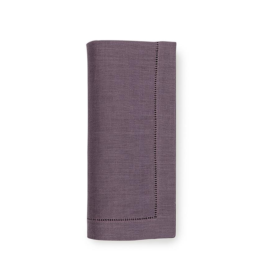 Fig Linens - Sferra Table Linens - Festival Mauve Napkins