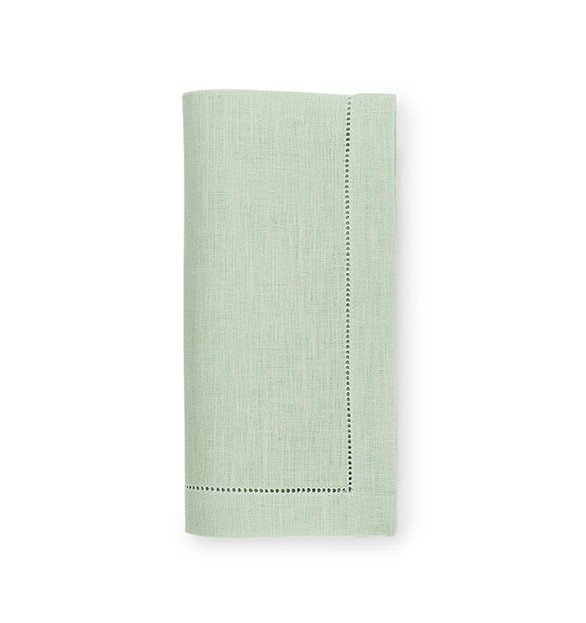 Fig Linens - Sferra Table Linens - Festival Mint Napkins
