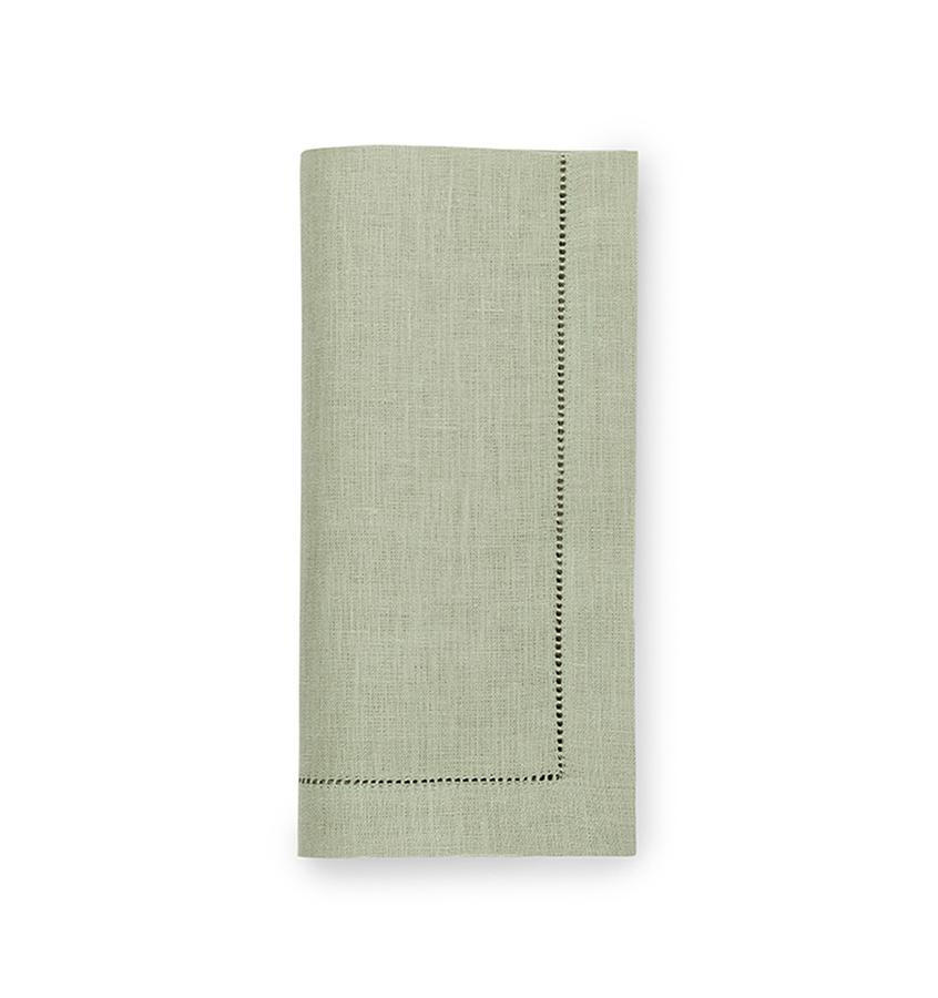 Fig Linens - Sferra Table Linens - Festival Moss Napkins