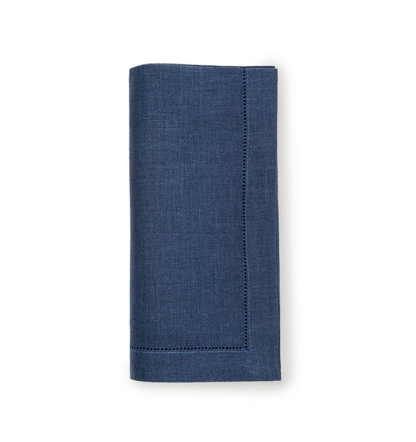 Fig Linens - Sferra Table Linens - Festival Navy Napkins