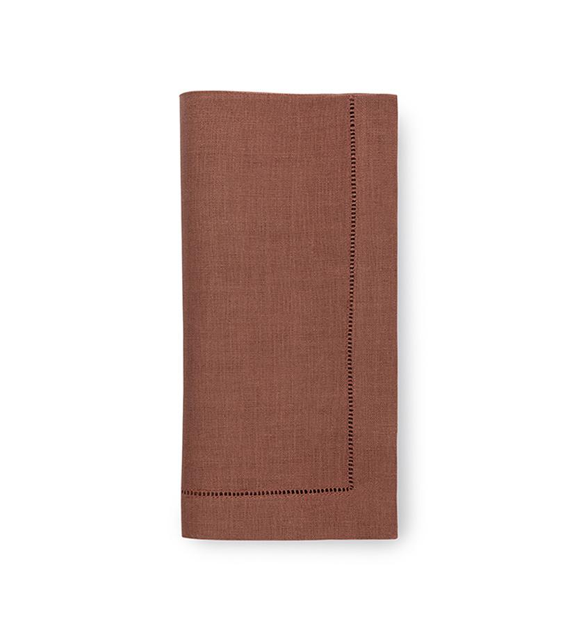 Fig Linens - Sferra Table Linens - Festival Nutmeg Napkins