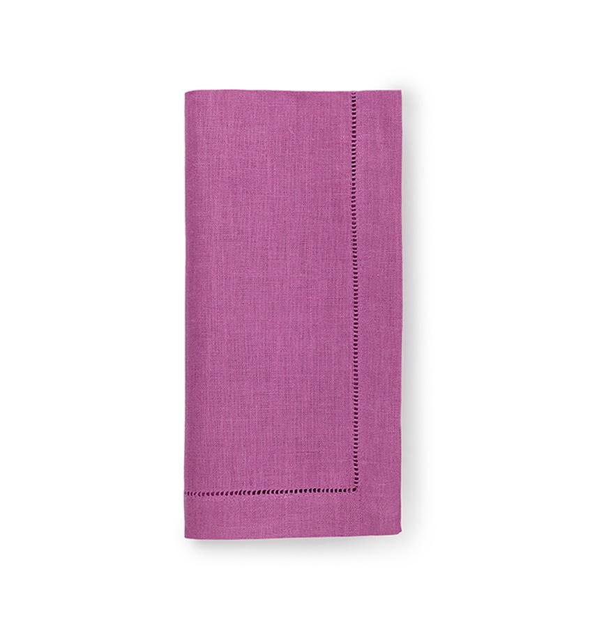 Fig Linens - Sferra Table Linens - Festival Orchid Napkins