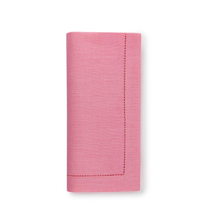 Fig Linens - Sferra Table Linens - Festival Pink Napkins