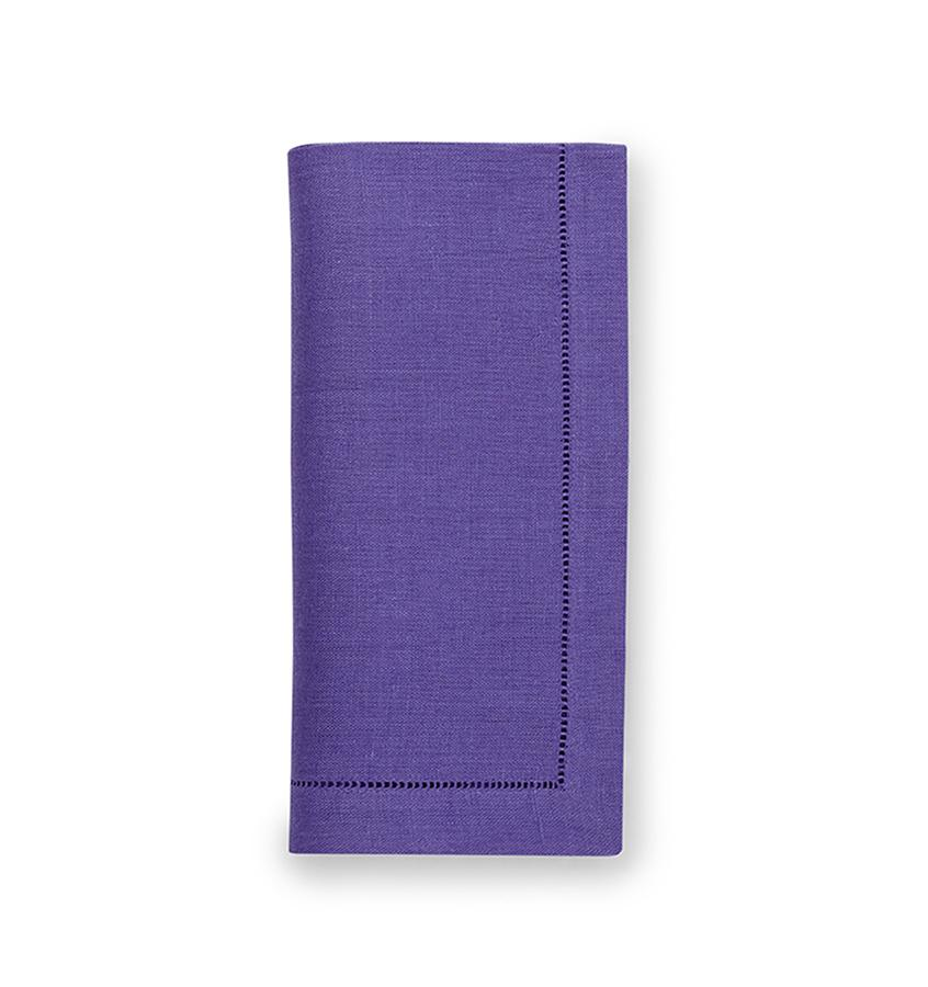 Fig Linens - Sferra Table Linens - Festival Purple Napkins