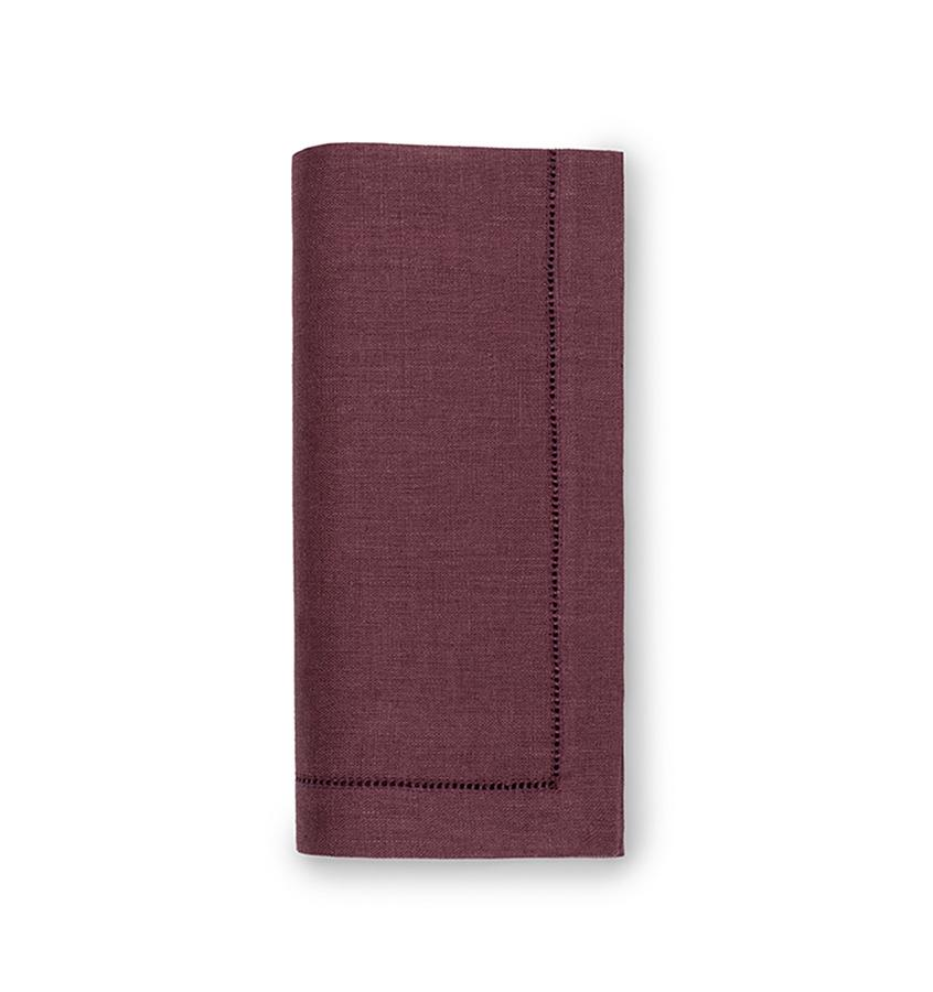 Fig Linens - Sferra Table Linens - Festival Raisin Napkins