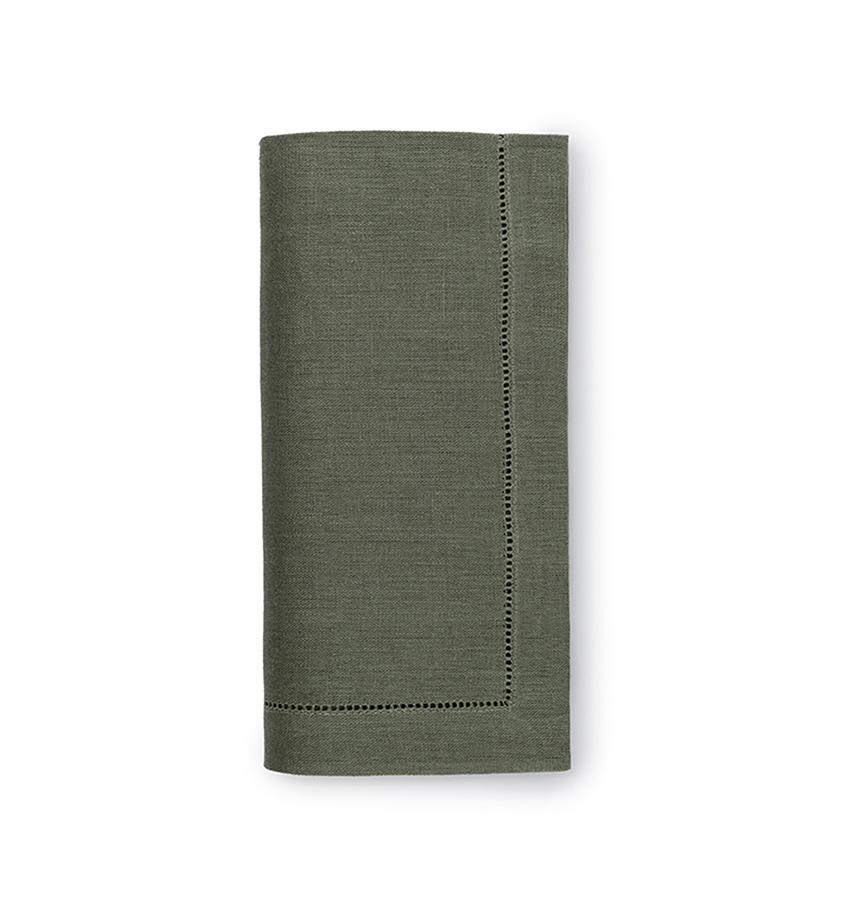 Fig Linens - Sferra Table Linens - Festival Sage Napkins