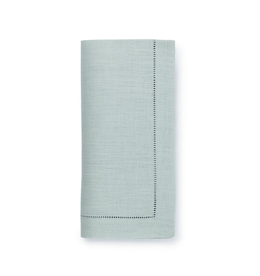 Fig Linens - Sferra Table Linens - Festival Sea Mist Napkins