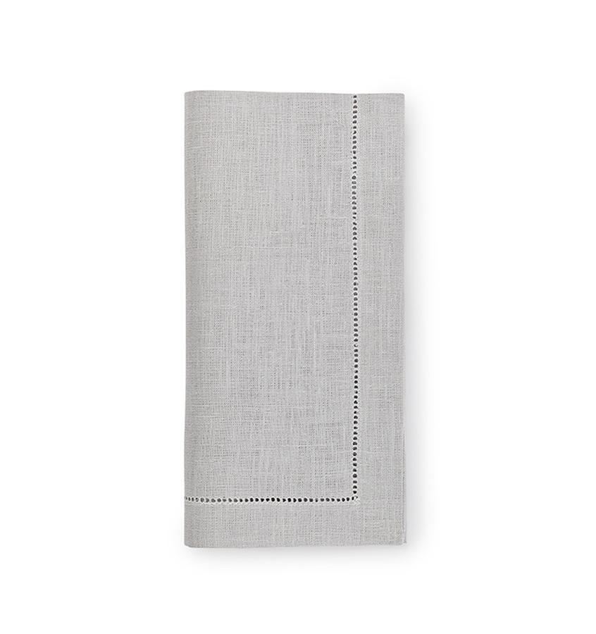 Fig Linens - Sferra Table Linens - Festival Silver Napkins
