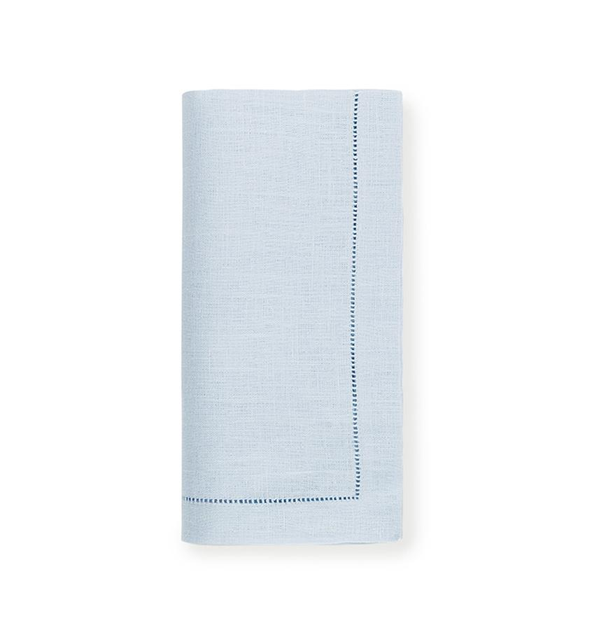 Fig Linens - Sferra Table Linens - Festival Sky Napkins