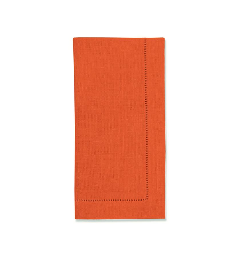Fig Linens - Sferra Table Linens - Festival Tangerine Napkins
