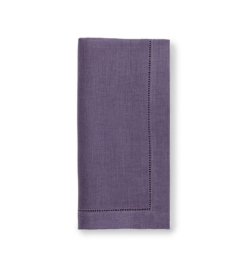 Fig Linens - Sferra Table Linens - Festival Violet Napkins