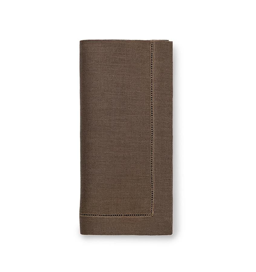 Fig Linens - Sferra Table Linens - Festival Walnut Napkins