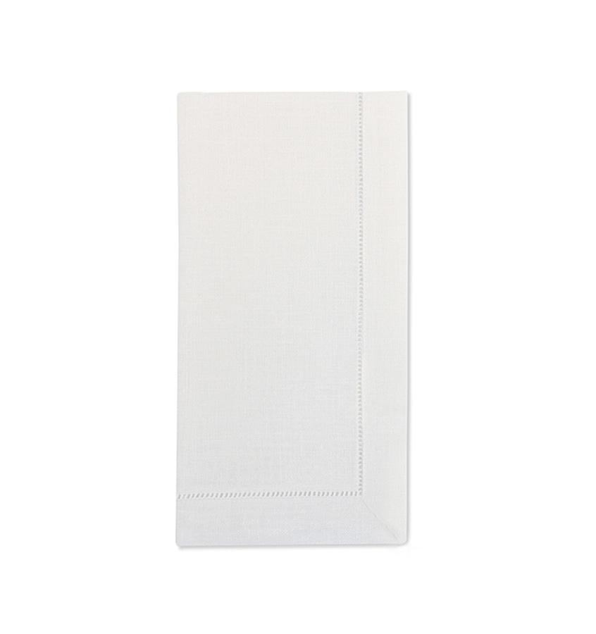 Fig Linens - Sferra Table Linens - Festival White Napkins