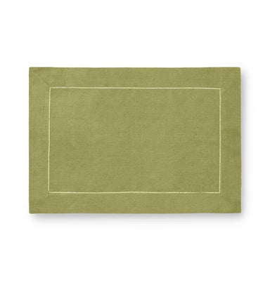 Fig Linens - Sferra Table Linens - Festival Placemats - Celadon