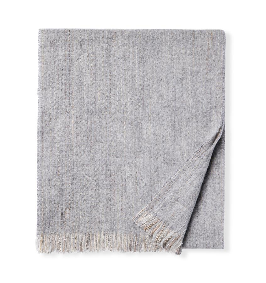 Grey Gigia Scarf by Sferra | Fig Linens and Home