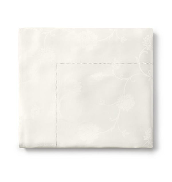 Giza 45 Ivory Jacquard Luxury Sheets by Sferra | Fig Linens