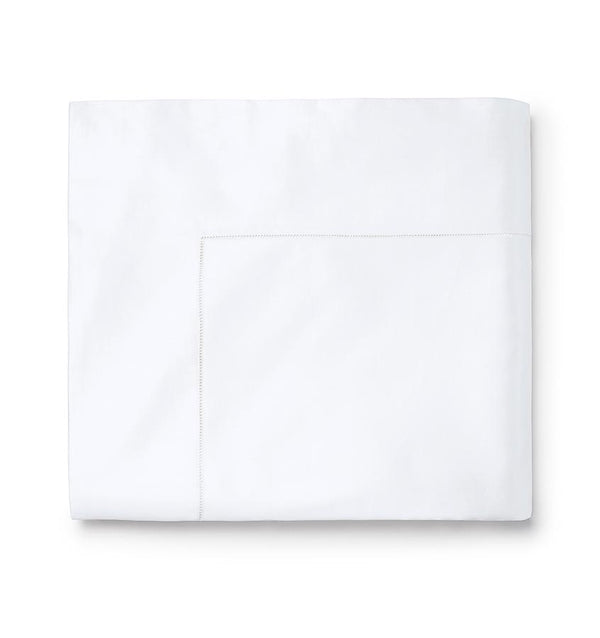 Giza 45 White Sateen Sheets by Sferra | Fig Linens and Home