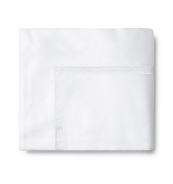 White Giza 45 Trina Sheet Set by Sferra | Fig Linens