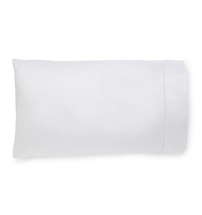 Milos White Pillowcase by Sferra | Fig Linens and Home