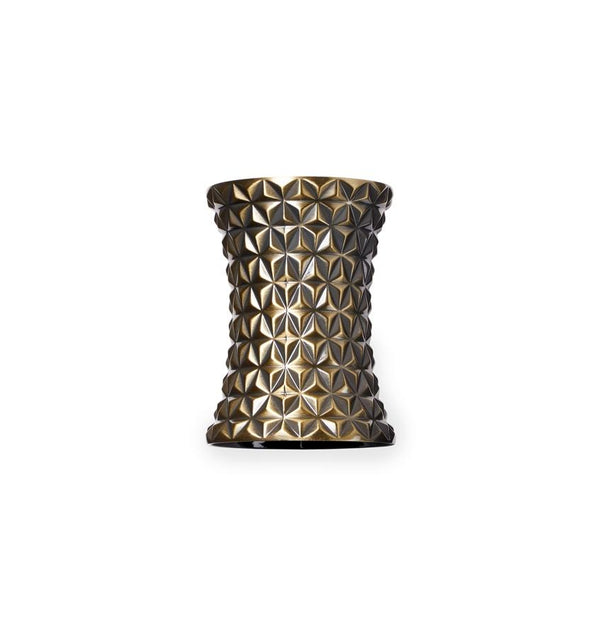 Fig Linens - Sferra Facet Gold Napkin Rings