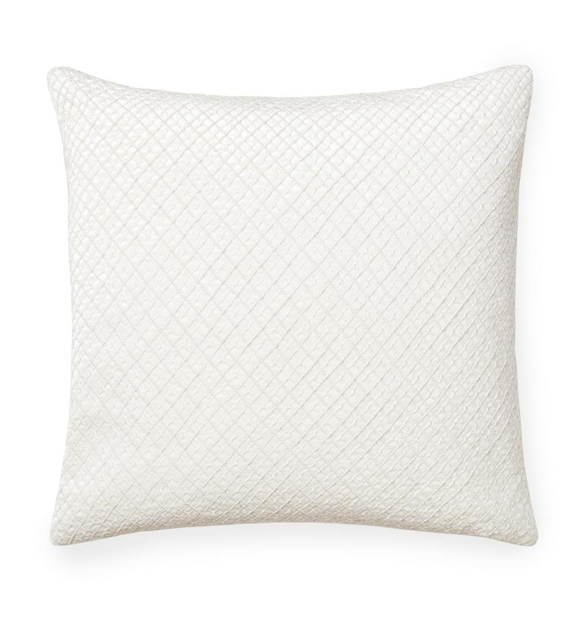 Traliccio Ivory Decorative Pillow by Sferra | Fig Linens and Home