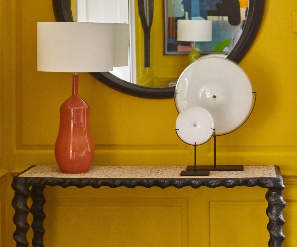 Appia Terracotta Table Lamp by William Yeoward | Fig Linens and Home