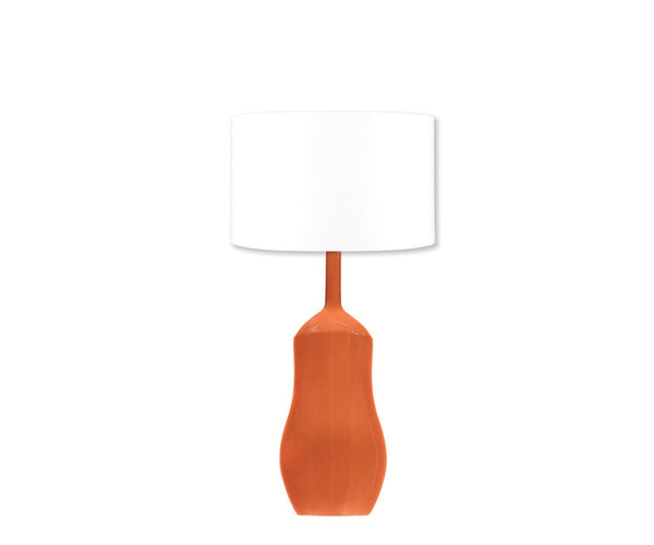 Fig Linens - Appia Terracotta Table Lamp - William Yeoward Lamps