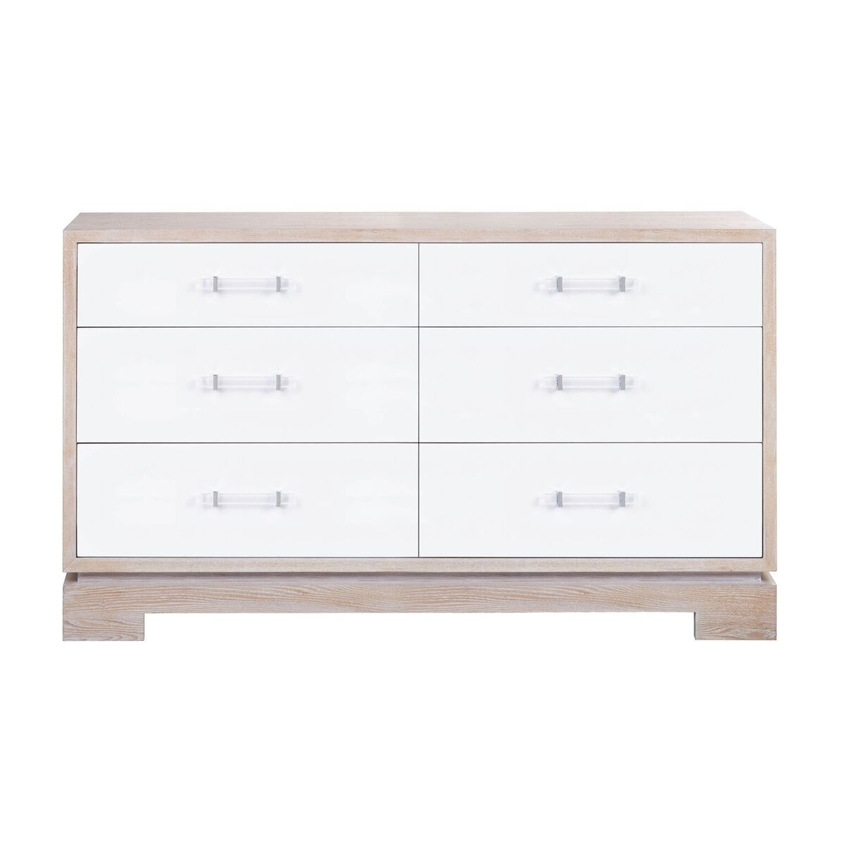 Crawford White Chest by Worlds Away