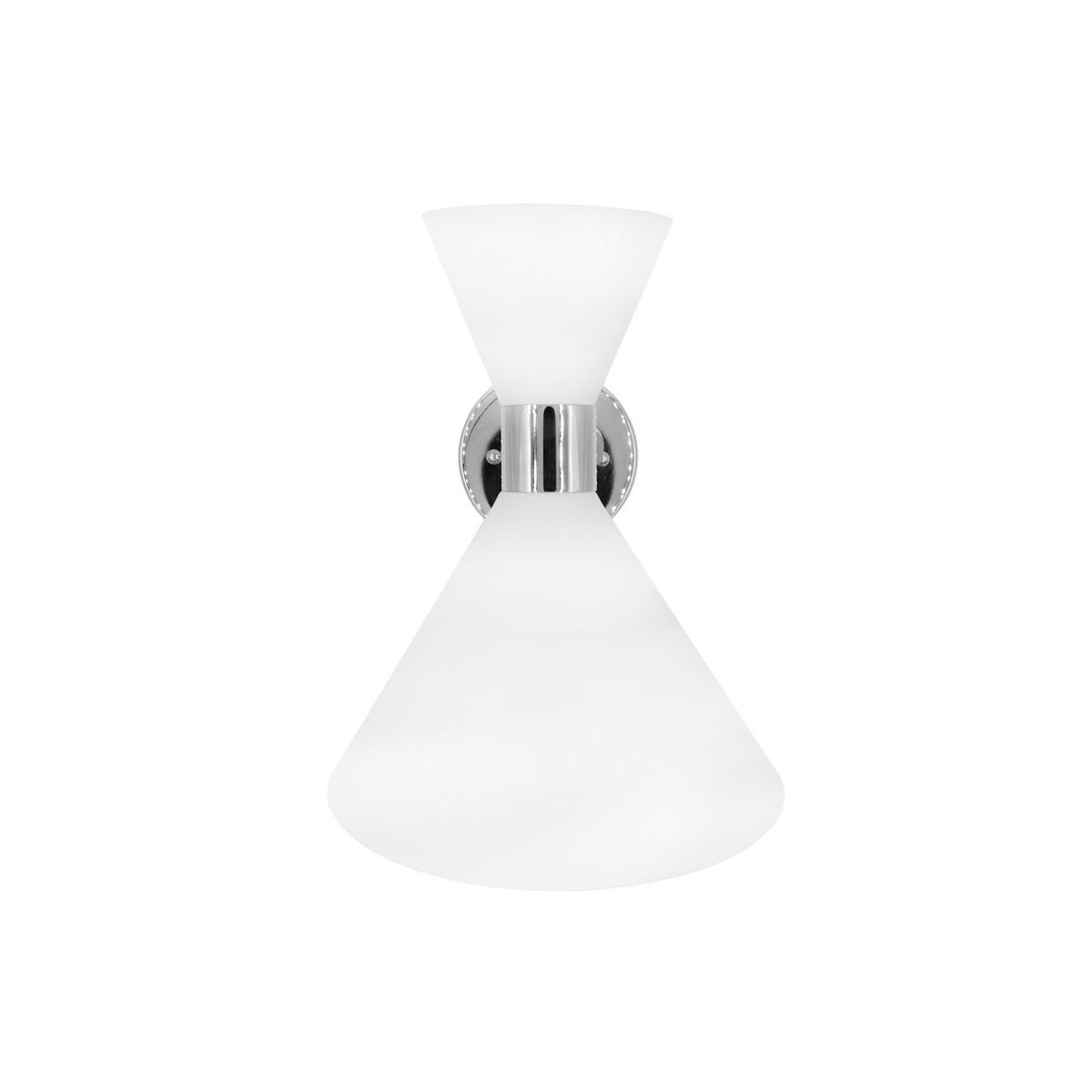 August White & Nickel Wall Sconce by Worlds Away | Fig Linens