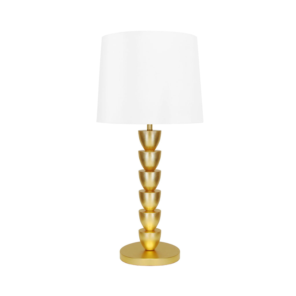 Gold Table Lamp by Worlds Away | Fig Linens and Home