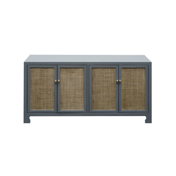 Sofia Grey Cabinet by Worlds Away | Fig Linens and Home