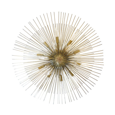 Calliope Antique Brass Urchin Chandelier by Worlds Away | Fig Linens