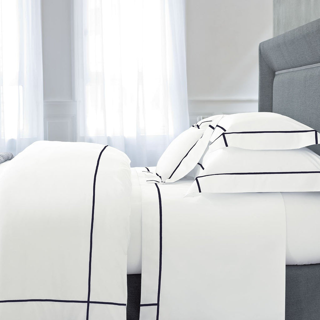 Athena Marine Bedding Collection by Yves Delorme | Fig Linens