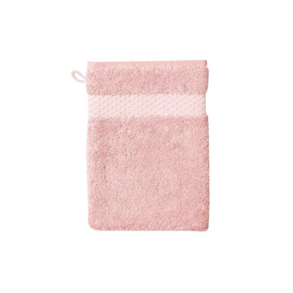 Fig Linens - Yves Delorme Etoile The Bath Towels - Rose pink wash mitt