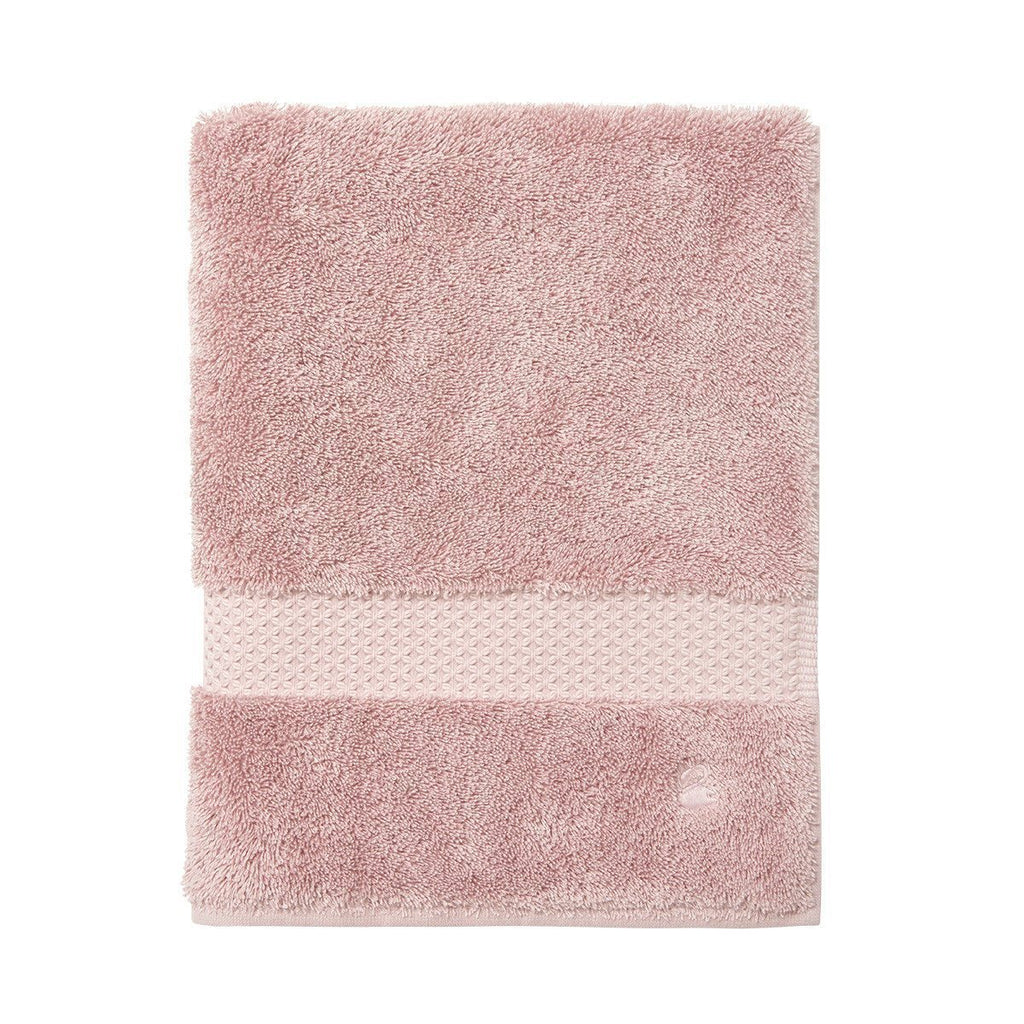 Fig Linens - Yves Delorme Etoile The Bath Towels - Rose pink guest towel