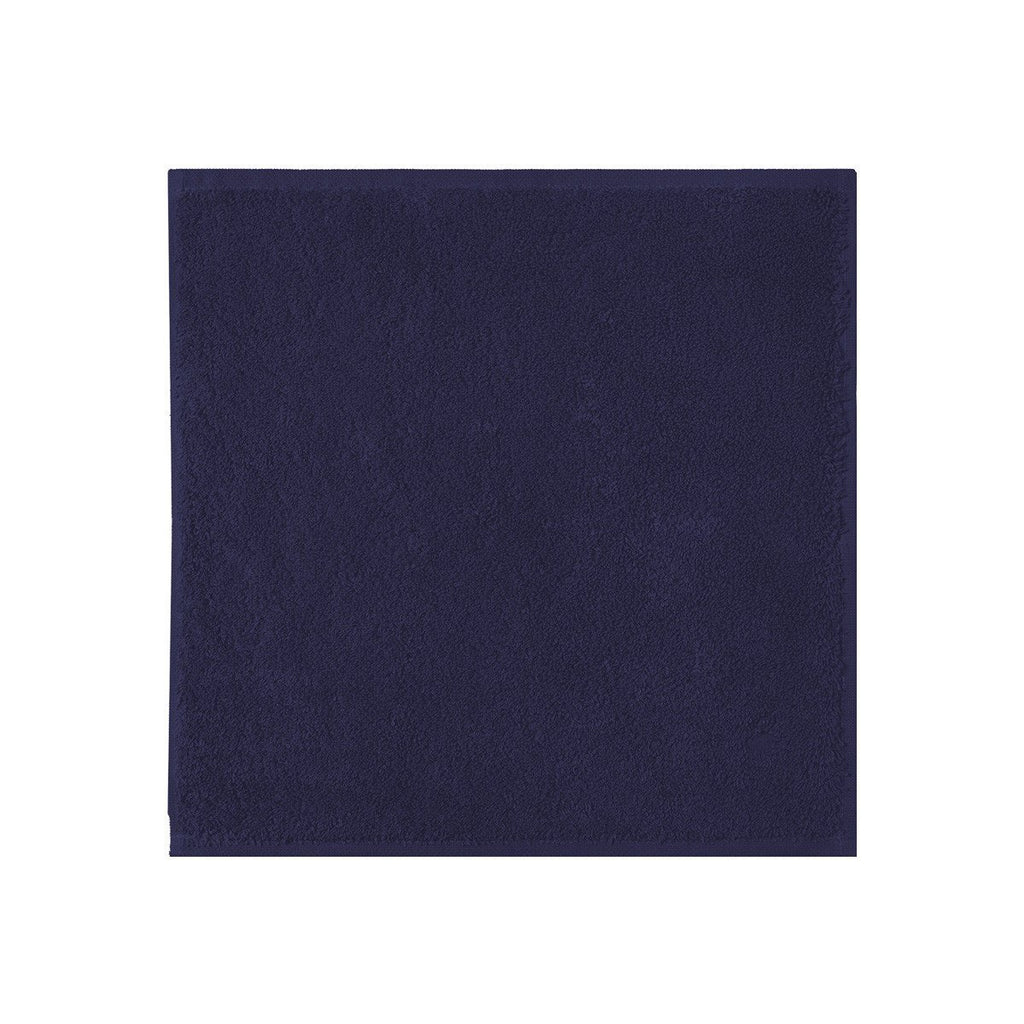Fig Linens - Yves Delorme Etoile Marine - Navy Blue Wash Cloth